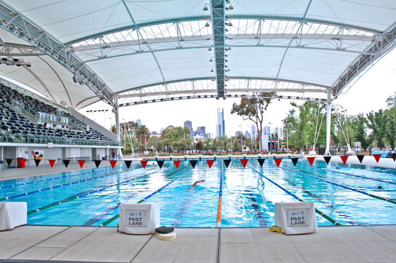 Olympic Sized Swimming Pool: 660,000 gallons capacity