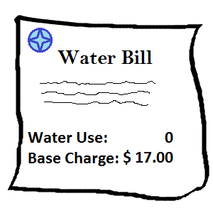 Base Charge on a Water Bill