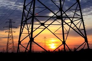 sunset powerline